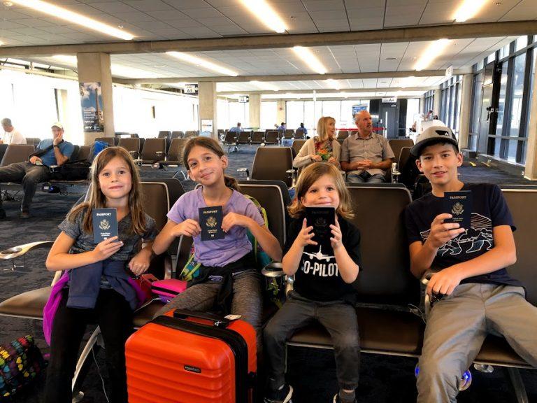 Kids with Passports