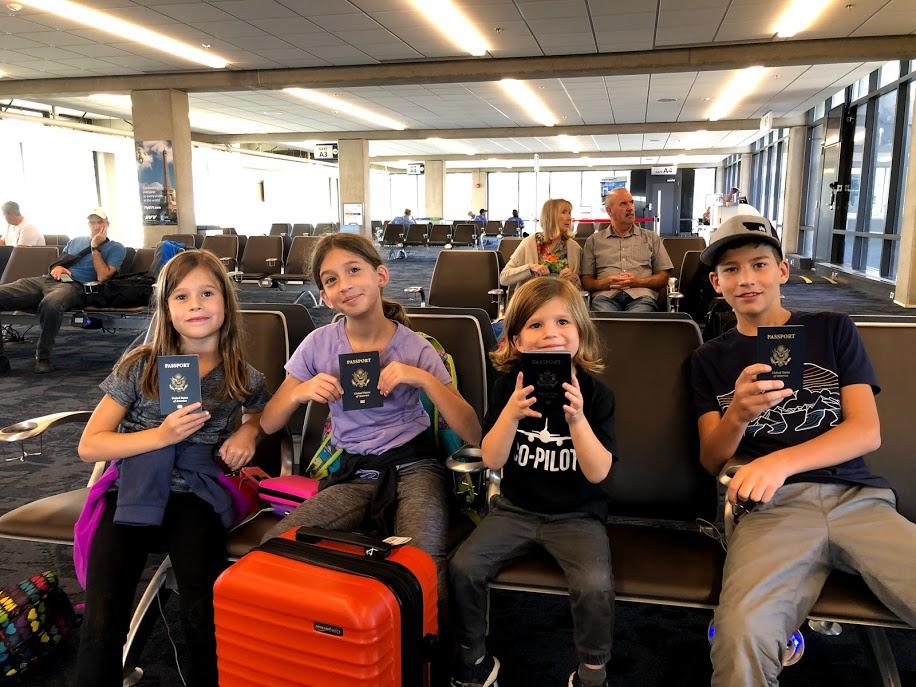 Wheels Up Kids' First International Flight!