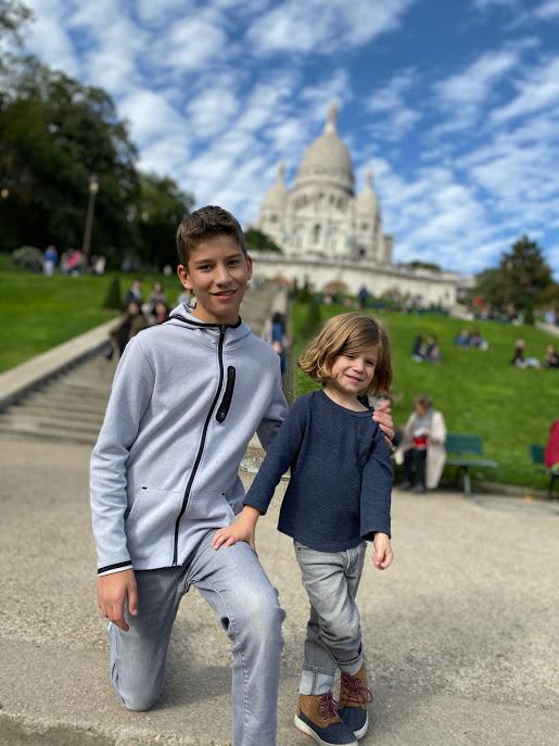 Boys at Sacre Coeure