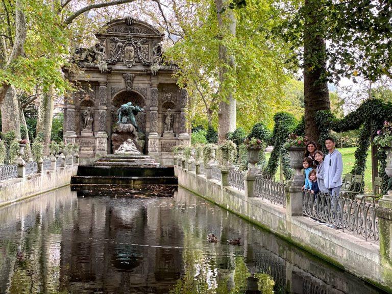 Luxemburg Garden fountain