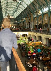 View from top of Covent Garden