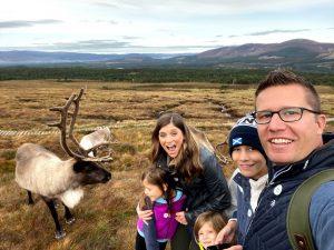 Playing Reindeer Games in Scotland