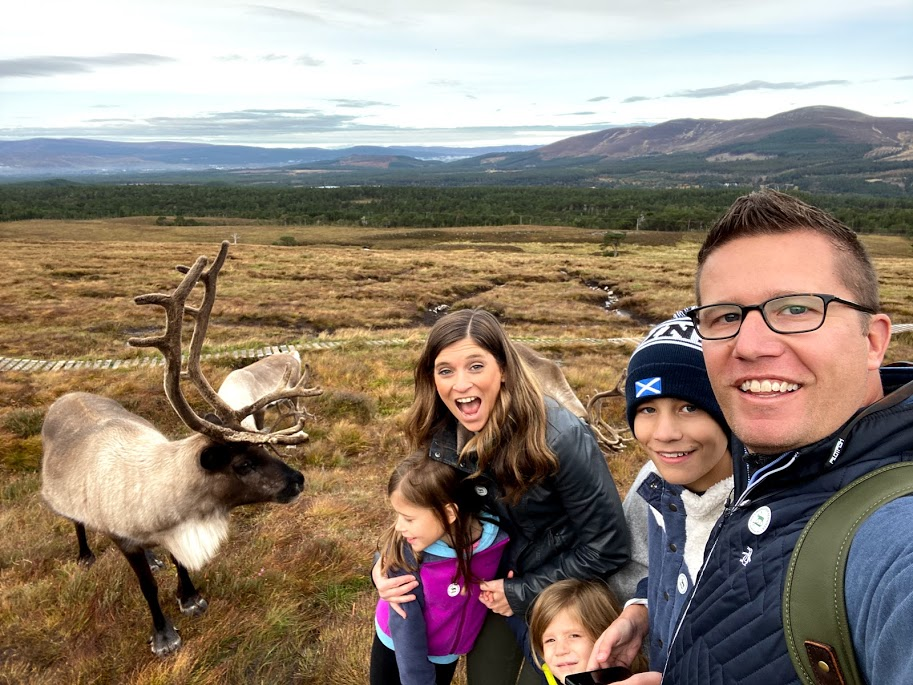 Playing Reindeer Games in Scotland
