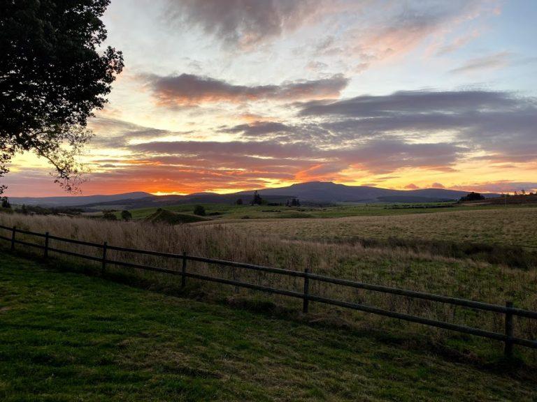 Scotland Countryside Sunrise