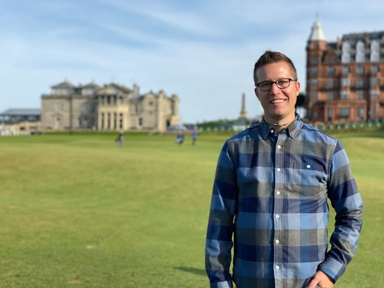Famous Golf Course in St.Andrews