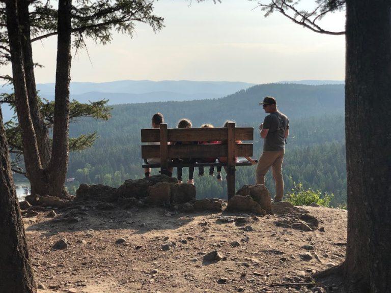 Overlooking Whitefish, Montana